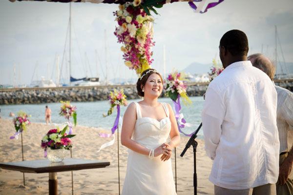Beach Wedding in Pattaya